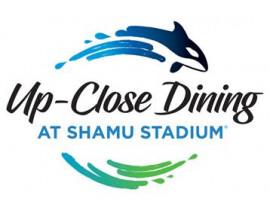 SeaWorld Up-Close Dining at Shamu Stadium