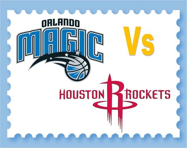 Orlando Magic Vs Houston Rockets - 13th January 2019 - 8pm