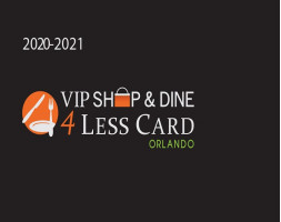 VIP Shop & Dine 4Less Card for 4 people