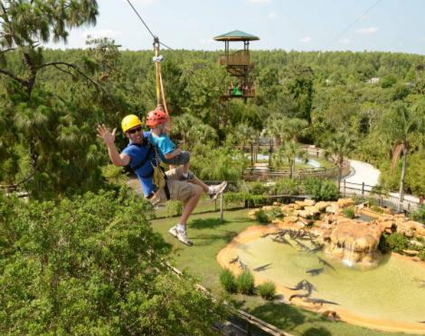Gatorland Screamin' Gator Zip Line