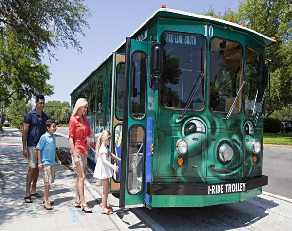 I-RIDE Trolley - 14-Day Pass for price of 7