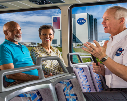 Kennedy Space Center plus EXPLORE tour + round trip transportation