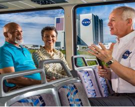 Kennedy Space Center plus EXPLORE tour + round trip transportation