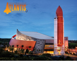 Kennedy Space Center Admission + round trip transportation