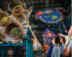 Kennedy Space Center EXPRESS and ICON Orlando + round trip transportation