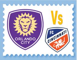Orlando City Soccer Vs FC Cincinnati - 19th May 2019