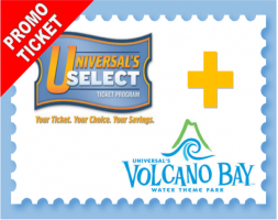 Universal 3 Park 4 Day Hopper Ticket PROMO