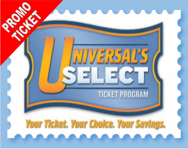 Universal 2 Park 2 Day Base Ticket + 2 Days FREE PROMO