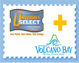 Universal Park to Park Tickets + Volcano Bay