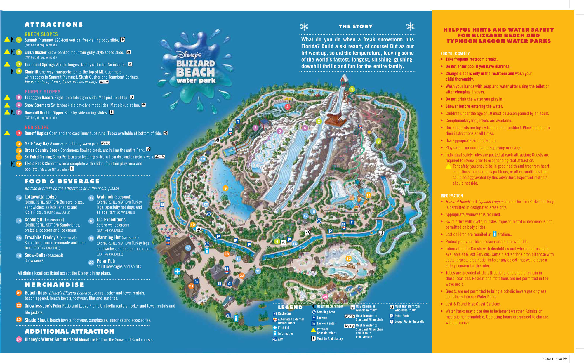 Walt disney world 7 day ultimate ticket disney memory maker bonus blizzard beach map gumiabroncs Image collections