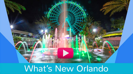 Whats New Orlando Attractions Video