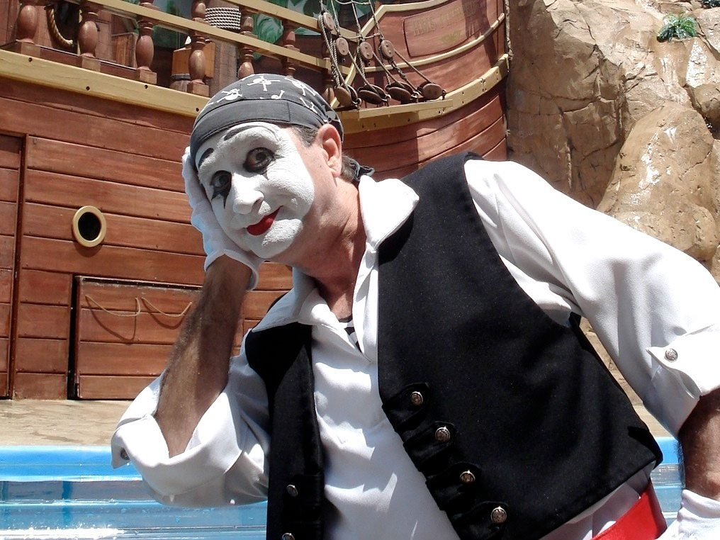 seaworld mime