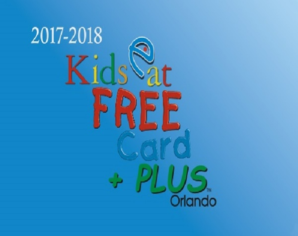 The Kids Eat Free card gives you access to free meals at over select Orlando restaurants! With the purchase of an adult entrée, children ages 11 and under can enjoy FREE meals at popular restaurants in the Orlando area.