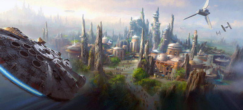 star wars land preview