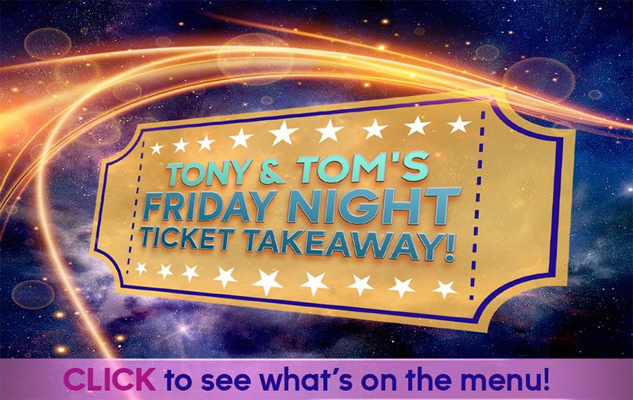 Friday Night Ticket Takeaway